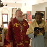 Met Hilarion in India