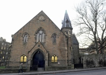 St Andrew Church near Edinburgh University