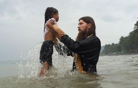 mass baptism in kiamba philippines journey to orthodoxy