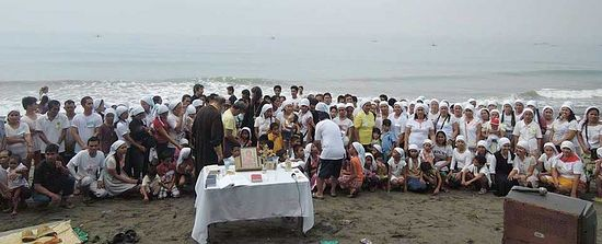 another mass baptism in the philippines