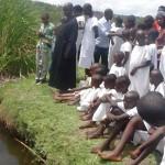 Mass Baptism in Rwanda