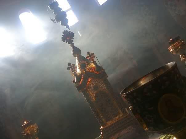 altar area