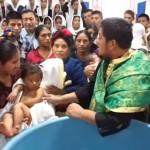 Orthodox baptism Guatemala
