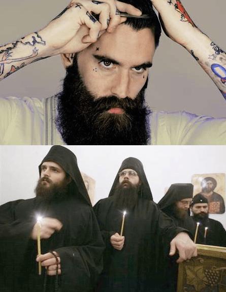 Hipster-monks
