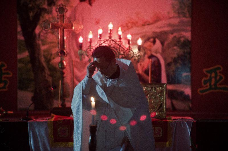 Fr. Alexander Yu Shi Chinese Orthodox priest