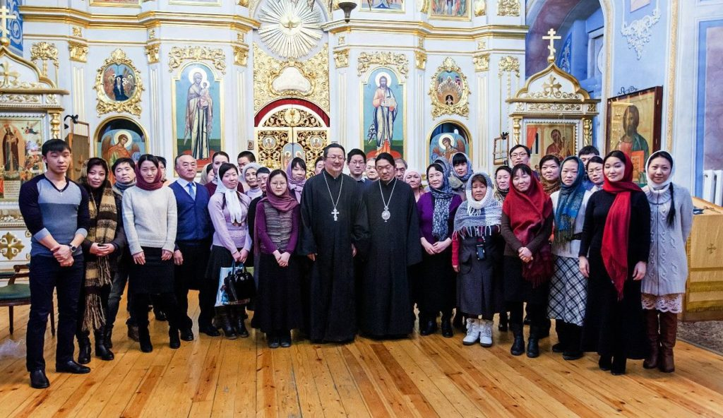 Orthodox Korean community in Moscow