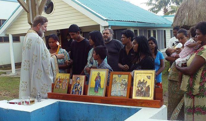 orthodoxy in fiji baptism