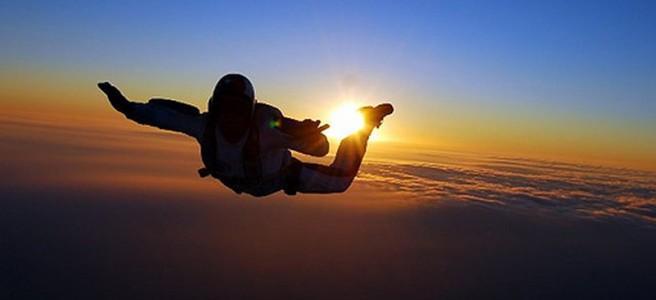 skydiving wallpaper sunset free - photo #45