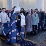 Metropolitan Hilarion (Alfeyev) Celebrates the Rite of Return to the Church for 63 Souls