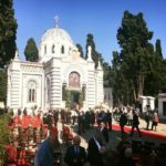 Patriarch Bartholomew Consecrates Restored Church in Constantinople Orthodox Cemetery