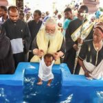 556 Catechumens are Baptized by Metropolitan Meletios of Congo